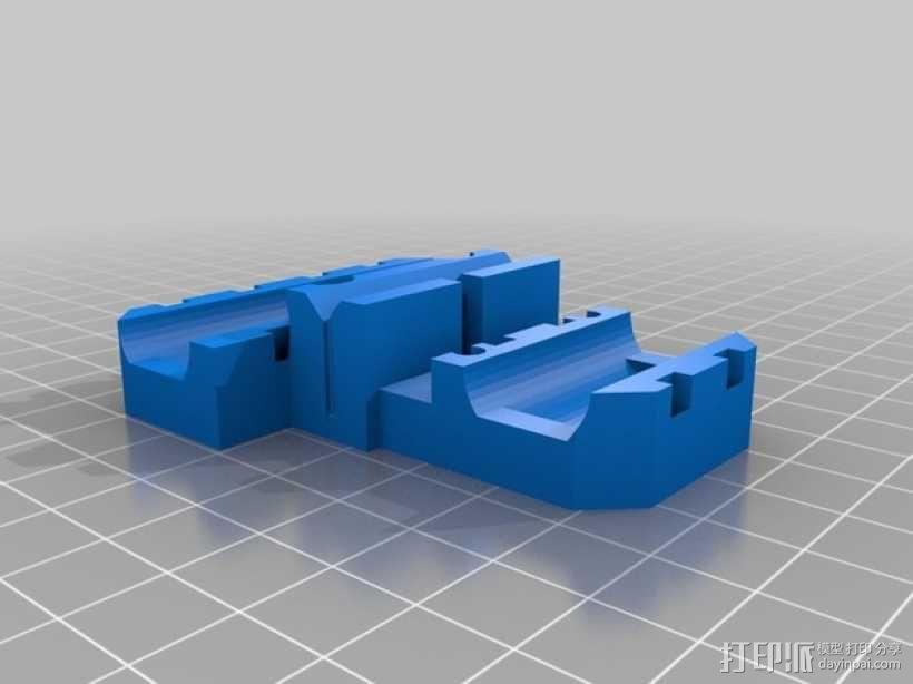 Prusa i3挤出机支架 3D模型  图1
