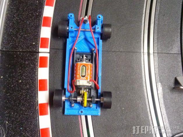 spirit peugeot 205标致汽车模型底盘 3D模型  图4