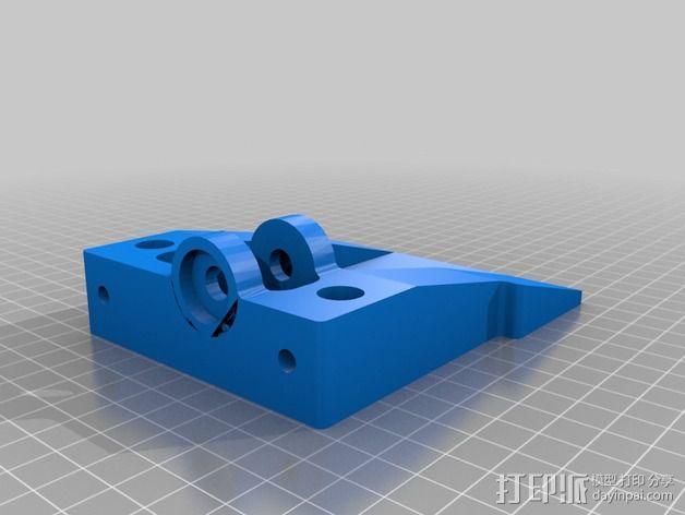 丝杠固定器 导螺杆固定器 3D模型  图2