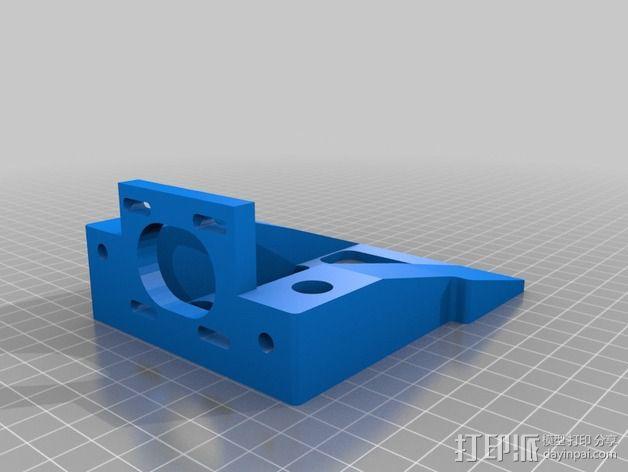 丝杠固定器 导螺杆固定器 3D模型  图3