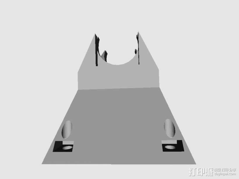 风扇支架 风扇导管 3D模型  图3