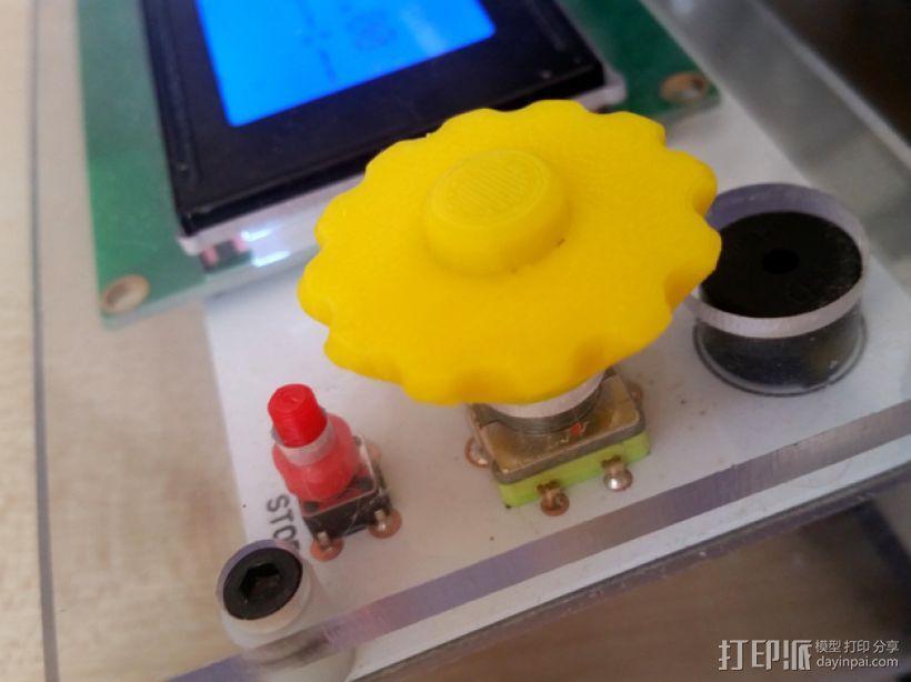 控制器旋钮 3D模型  图1