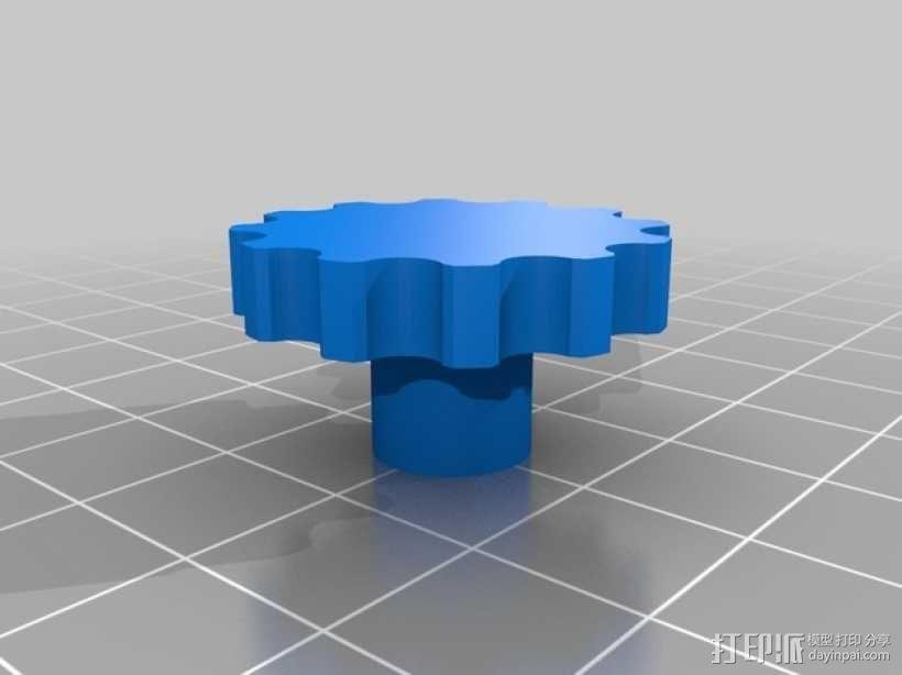 控制器旋钮 3D模型  图3