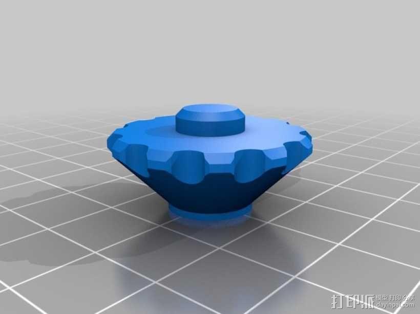 控制器旋钮 3D模型  图5