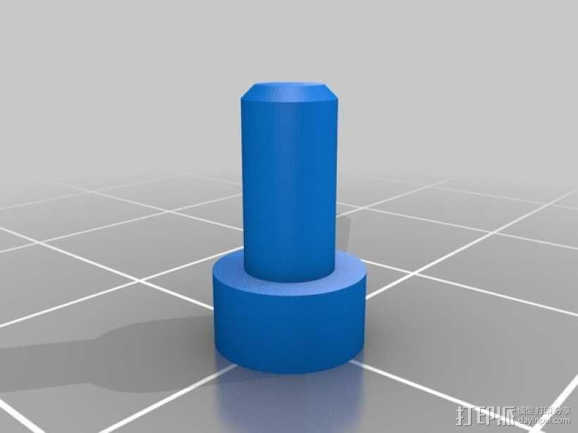 控制器旋钮 3D模型  图6
