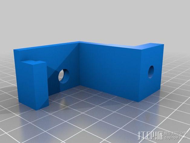 微动开关 3D模型  图2