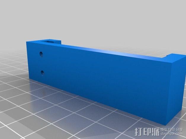 微动开关 3D模型  图3
