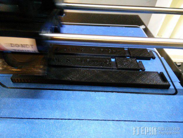 RoBo 3D打印机顶部线轴支架 3D模型  图3