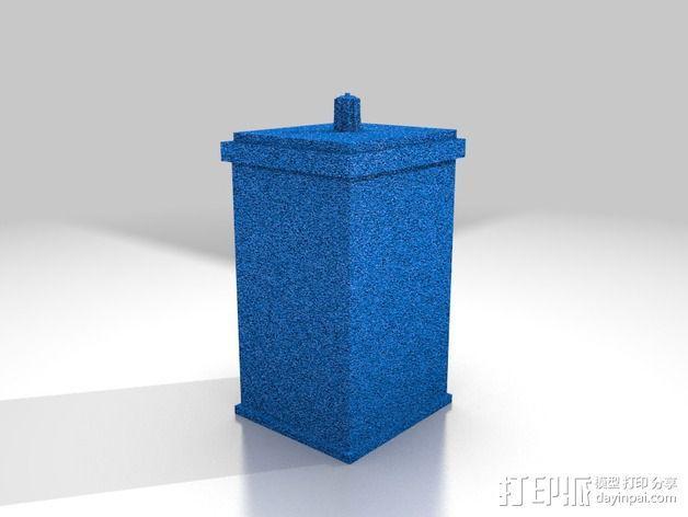 Tardis塔迪斯警察亭 3D模型  图2