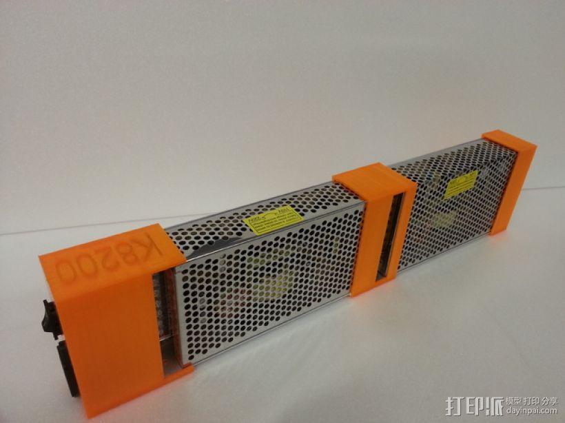电源固定器  3D模型  图1