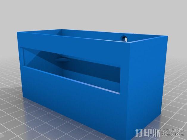 电源固定器  3D模型  图2