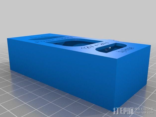 电源固定器  3D模型  图4