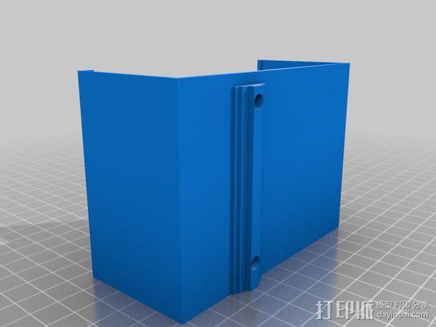 电源固定器  3D模型  图3
