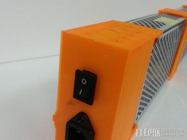 电源固定器  3D模型  图5