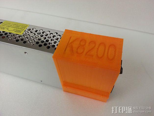 电源固定器  3D模型  图6