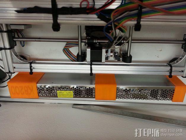 电源固定器  3D模型  图8