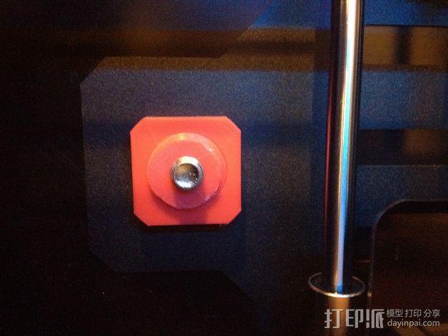 Flashforge打印机线轴适配器 3D模型  图4