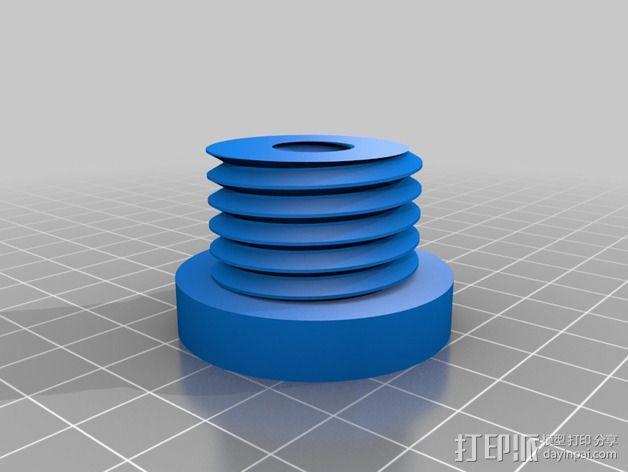 Flashforge打印机线轴适配器 3D模型  图5
