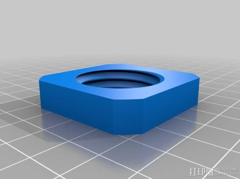 Flashforge打印机线轴适配器 3D模型  图6