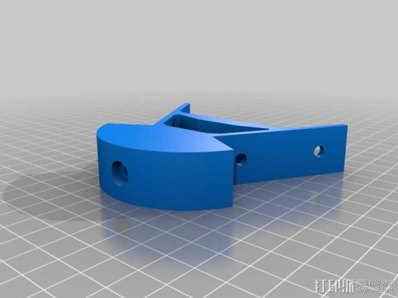 Kossel mini打印机顶部框架 3D模型  图1