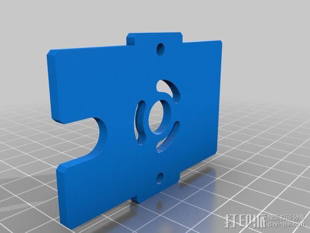 Bowden 鲍登挤出机 3D模型  图2