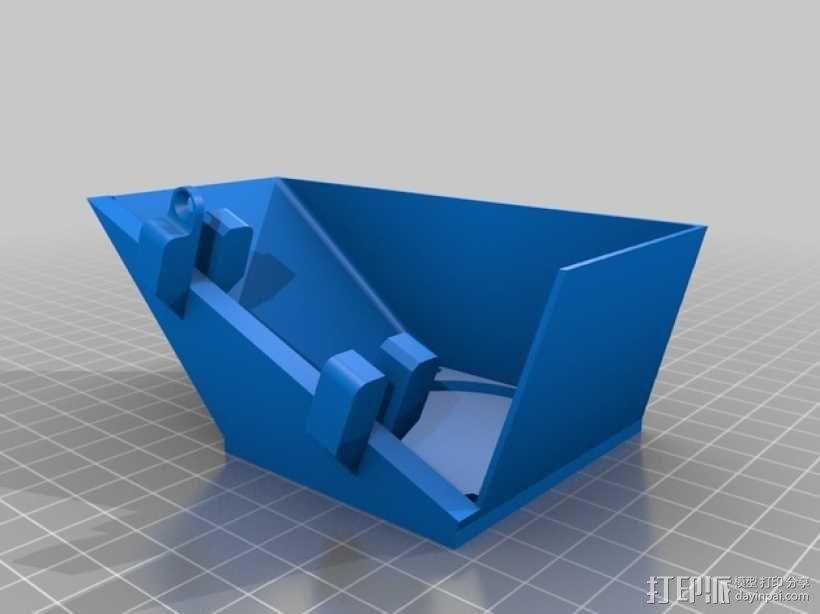 Makerfarm Prusa i3打印机处理器风扇 散热器 3D模型  图2