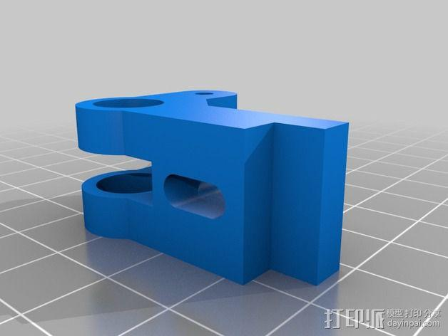 One-Up / Two-Up挤出机 3D模型  图3
