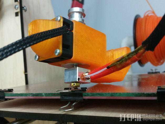 喷头风扇导管 3D模型  图1