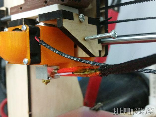 喷头风扇导管 3D模型  图4