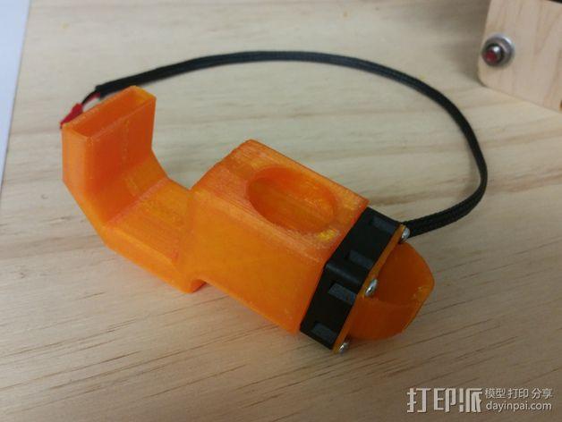 喷头风扇导管 3D模型  图2