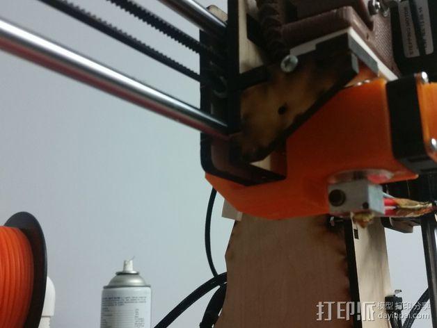 喷头风扇导管 3D模型  图5