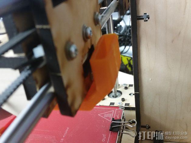 喷头风扇导管 3D模型  图6