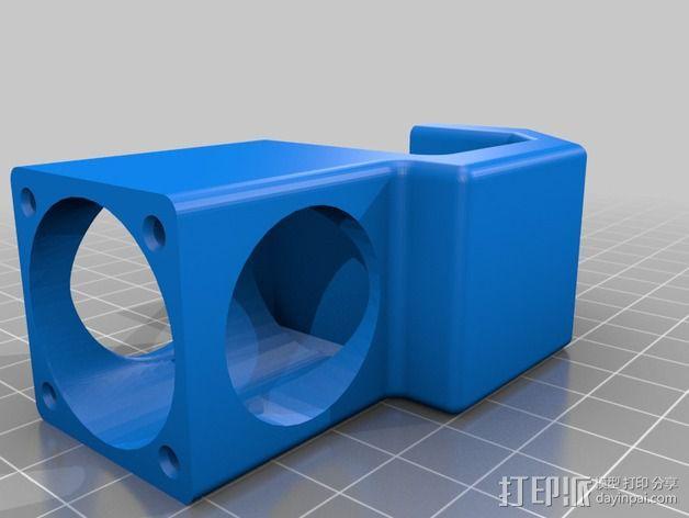 喷头风扇导管 3D模型  图10