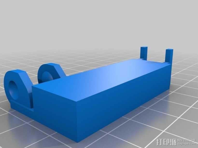 电缆支架 3D模型  图2