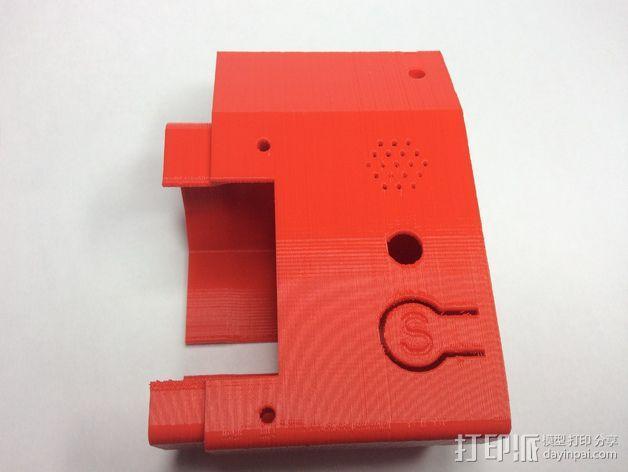 智能控制器外壳 3D模型  图3