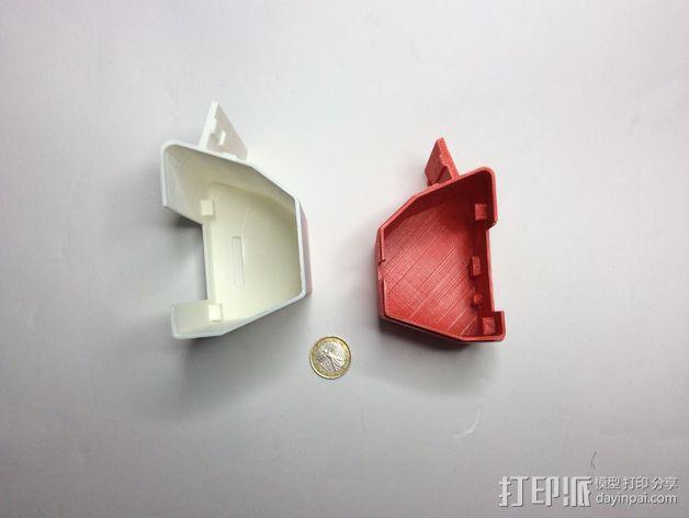 智能控制器外壳 3D模型  图16