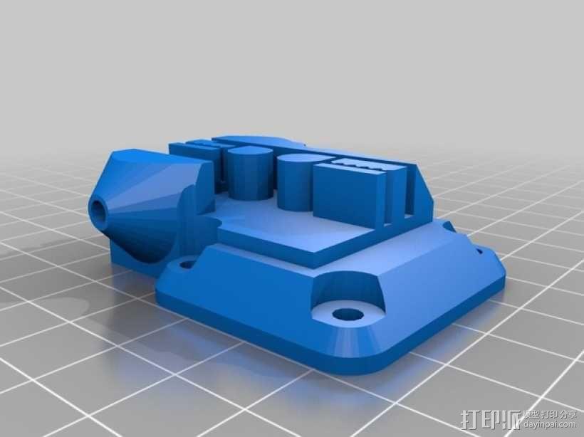 Kossel 打印机轴承和皮带部件 3D模型  图2