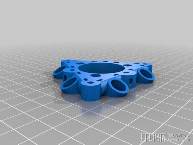 磁力部件连接器 3D模型  图1