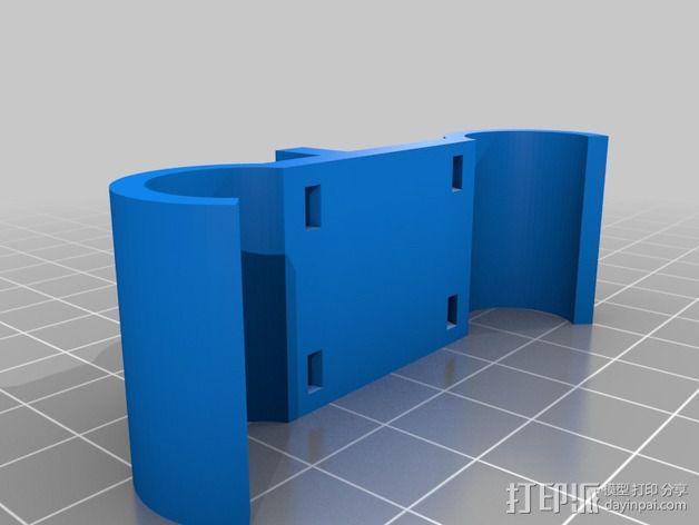 磁力部件连接器 3D模型  图3