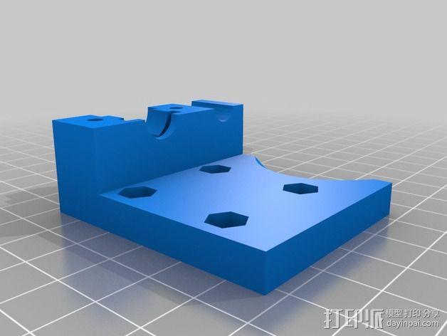 prusa i3打印机风扇支架 3D模型  图3