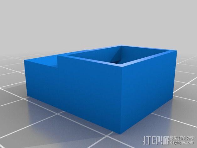 prusa i3打印机风扇支架 3D模型  图2