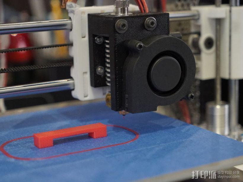prusa i3打印机风扇支架 3D模型  图1