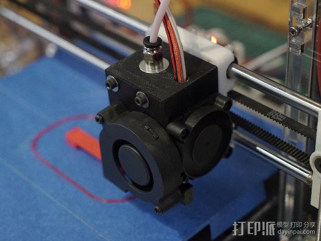 prusa i3打印机风扇支架 3D模型  图5