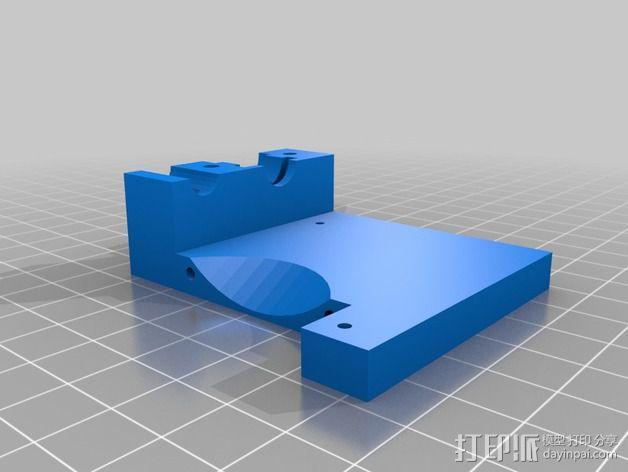 prusa i3打印机风扇支架 3D模型  图4