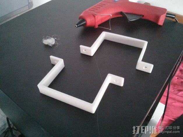 Solidoodle 4打印机电源支架 3D模型  图5