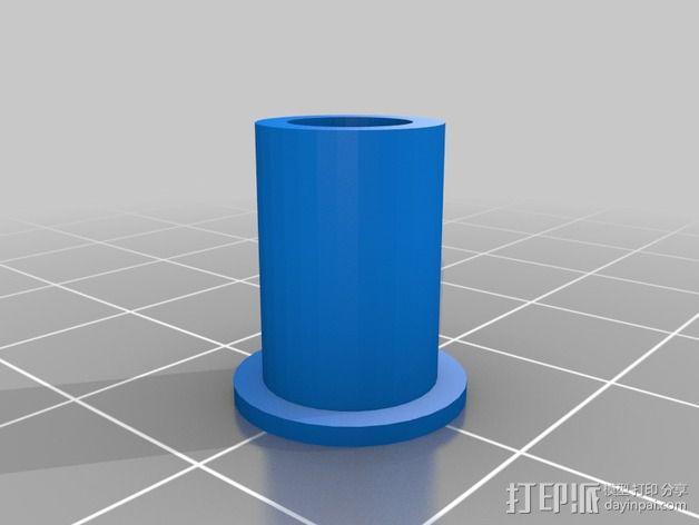 弹簧导杆 3D模型  图3
