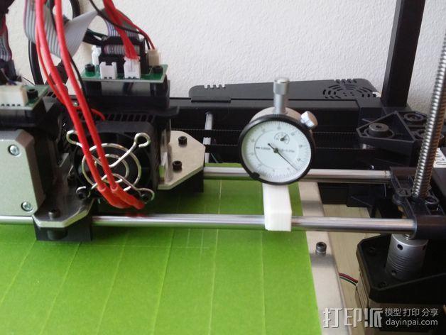 Rigidbot 3D打印机夹具 固定夹 3D模型  图4