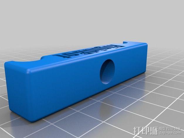 Rigidbot 3D打印机夹具 固定夹 3D模型  图2