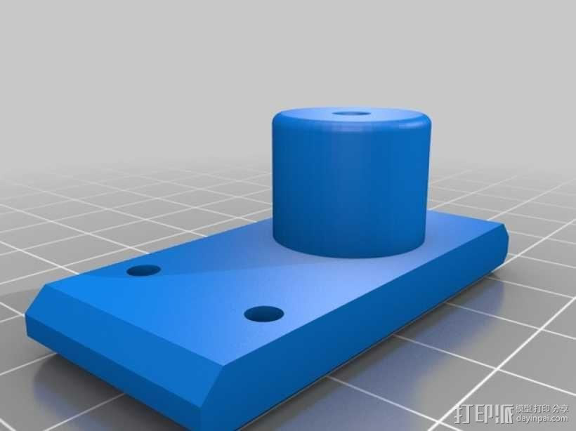 Printrbot 挤出机 3D模型  图2