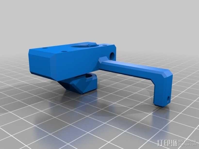 Printrbot 挤出机 3D模型  图5